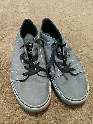 285422e02c VANS Skateboard Shoes TC6D MEN S US 13 UK 12.5 EUR 47 - Gray Good Condition