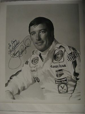 Original Johnny Rutherford Signed Photograph from 1978   3 time Indy 500 winner