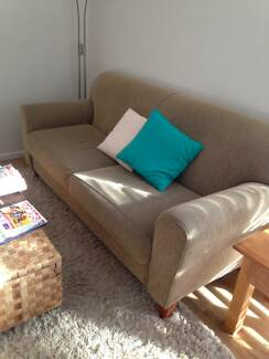 2 SEATER FABRIC LOUNGE great condition