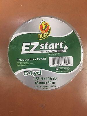 Ez Start Carton Sealing Tape (1 ROLLS CLEAR Duck EZ Start Packing Carton Shipping Duct Tape 1.88