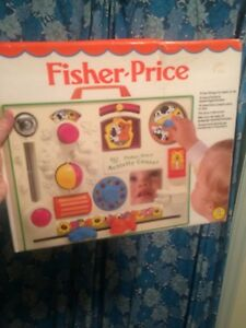Collection of Vintage Fisher Price Baby Toys