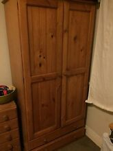 Urgent, free solid wood wardrobe, mirror and shelves Manly Manly Area Preview