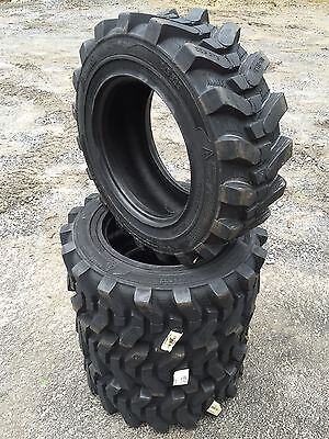 4-10-16.5 Hd Skid Steer Tires - Camso Sks532-10x16.5 Xtra Wall-for Bobcat More