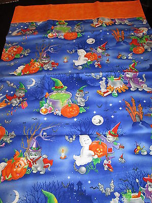 Halloween Handcrafted Pillow Cases 2 Pack Pillow Cases Standard Size! #2 (Halloween Handcrafts)