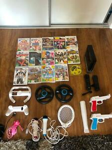 Wii (Games, Items and console)
