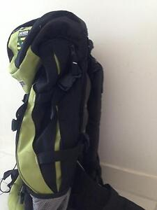 Hiking backpack rucksack 60L good condition, changable size ! Melbourne CBD Melbourne City Preview