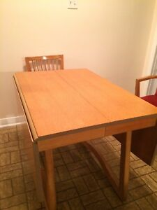 Gibbard wood dining table and 6 chairs