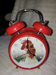 Wacky Wakers Rooster Alarm Clock. Bedside Table Alarm Clock.