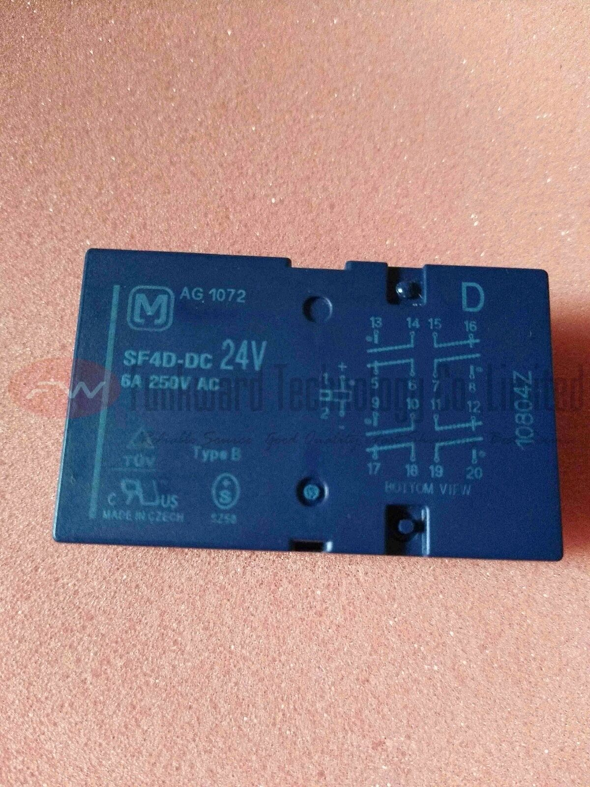 SF4D-DC12V Electromechanical Relay 6A 250VAC 18 Pins x 1pc