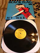 Black Flag My War LP