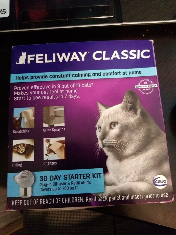 Feliway CLASSIC Plug In Diffuser Starter Kit for Cats - UPC: 899484001272