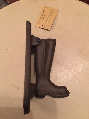 East2Eden Cast Iron Wellington Boot Door Knocker, Brand new, FREE POSTAGE