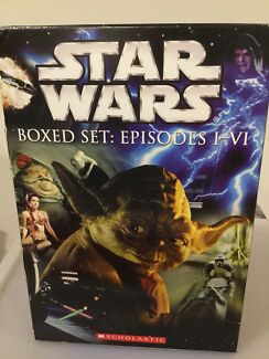 Star Wars - Boxed selection. Episodes 1-6. Books