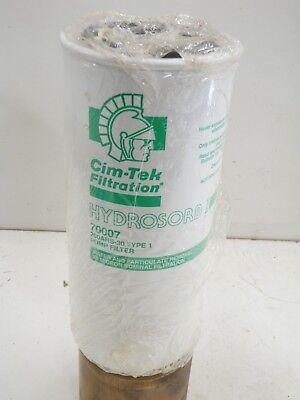 Cim-Tek 70007 260AHS-30 30 Micron Type 1 Hydrosorb Pump Filter
