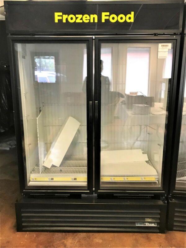 True GDM-49F Glass Door Merchandiser Freezer, 49 Cu. Ft
