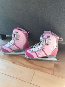 Patin pour fillette grandeur 12 junior
