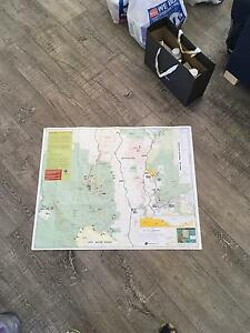 Topographic map Gold Coast hinterland Springbrook/Lamington NP Epping Ryde Area Preview