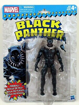 "Marvel Legends 2018 Vintage Retro Style 6"" BLACK PANTHER Wave 2 Action Figure"