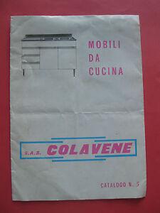 Dettagli su mobili da cucina COLAVENE catalogo n.5 - Civita Castellana ...
