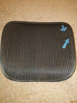 Herman Miller Aeron Chair Seat Mesh Black Pellicle Blemish Size C Large 104