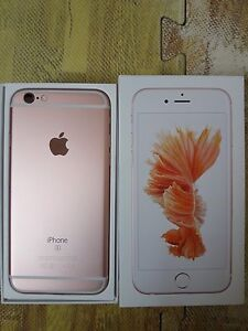 iPhone 6s ROSE GOLD TRADE
