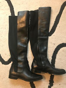 Knee high Clark's boots size 8