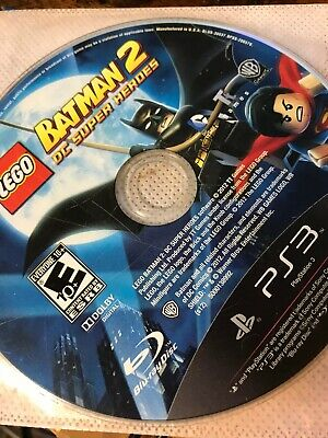 LEGO Batman 2: DC Super Heroes (Sony PS3, 2012) Disc Only / see pic