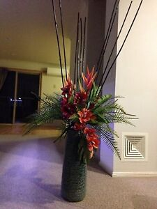 Artificial flowers and vase Lutwyche Brisbane North East Preview