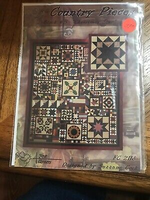 Country Pieces Christmas Star Quilt Pattern block #5 ()