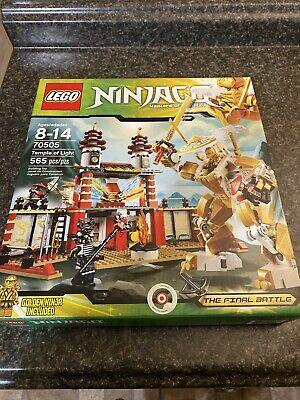 LEGO 70505 NINJAGO Temple of Light NEW NIB FACTORY SEALED RETIRED