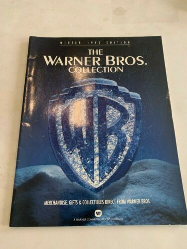 Winter 1990 The Warner Bros Collection Catalog