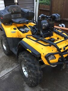 2007 can am outlander 800  part out