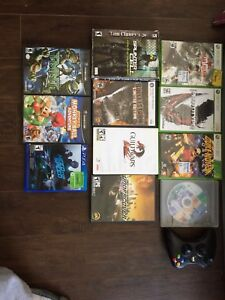 Ps4,gamecube,pc games ,360games 1remote