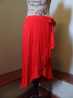 New Disney Pirates of the Caribbean Cosplay Skirt Junior's S, M, L, XL, Red (Disney Junior Kostüme)