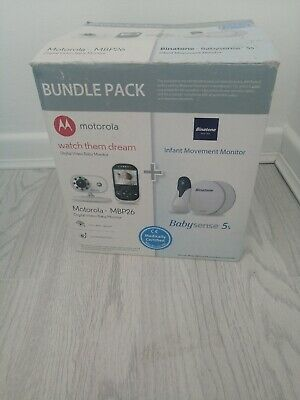Motorola Baby Monitor And Binotone Movement Monitor Bundle Pack