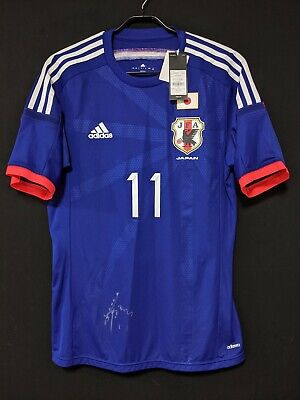 2014-15 JAPAN Jersey Soccer Shirt adidas XO(Japan Size) AUTHENTIC *BNWT* image