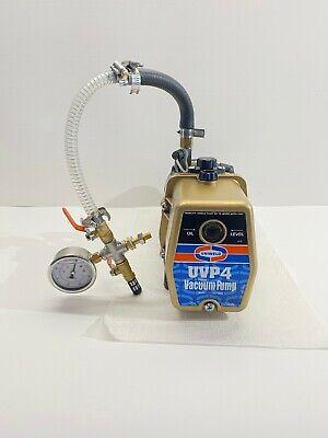 Uniweld Premium Gold Vacuum Pump 4 Cfm Model Uvp4 W Warranty