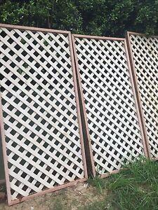 privacy screens or fence framed wooden lattice Bellingen Bellingen Area Preview