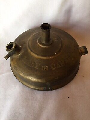 Collectible Antique Canadian Coleman Brass Kerosene Oil Camping Stove Base Only for sale  Shipping to Nigeria