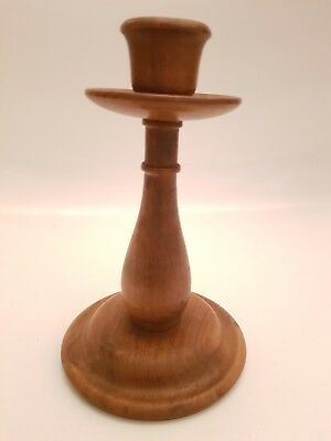 Wooden Candlestick Candle Holder (A3)
