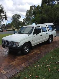 Perfect  Condition Toyota Hilux 3.0 Diesel Dual Cab 1999 Concord Canada Bay Area Preview