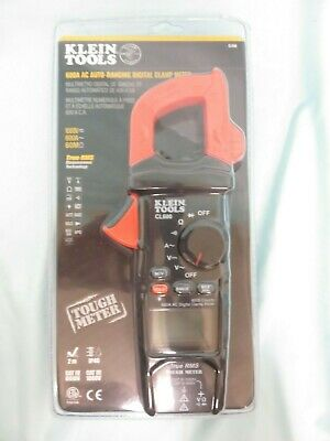 Klein Cl600 600a Ac Auto-ranging Digital Clamp Meter