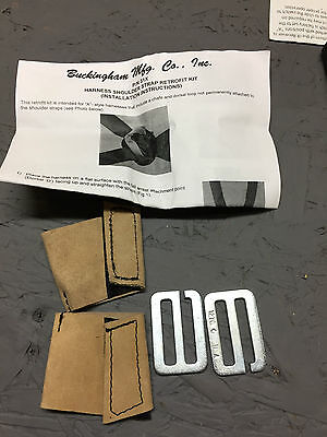 5x Buckingham Mfg Co Pn 31x Harness Shoulder Strap Retrofit Kit