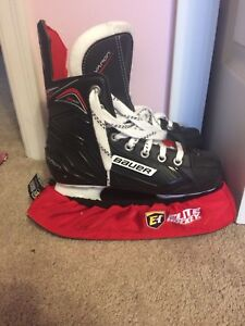 Kids Bauer Vapor Ice Skates - Like New!