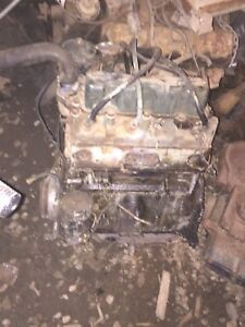 REDUCED Military jeep engine, F head