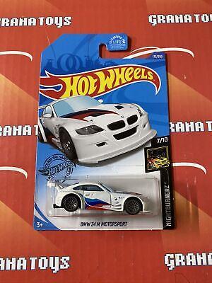 BMW Z4 M Motorsport #172 White Nightburnerz 7/10 2020 Hot Wh