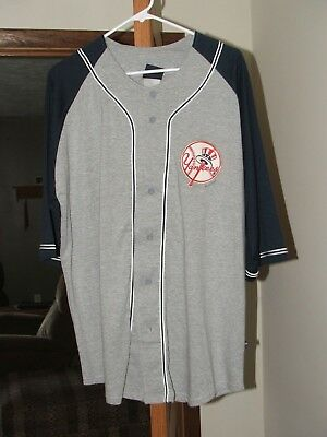 Vintage style Pro Player New York Yankee Jersey size LARGE new with tags ()