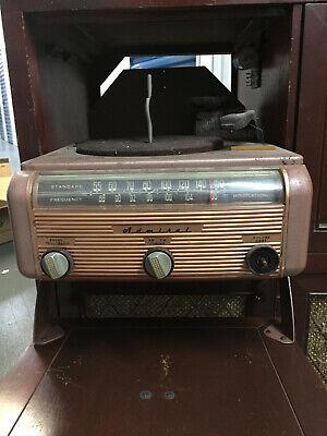 PARTS Vintage 1949 Admiral 36E06 TV AM/FM Radio / Phonograph / Television