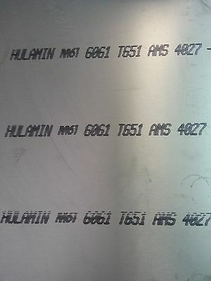 Aluminium Plate Sheet 6061-t6 1 14 X 24 X 24