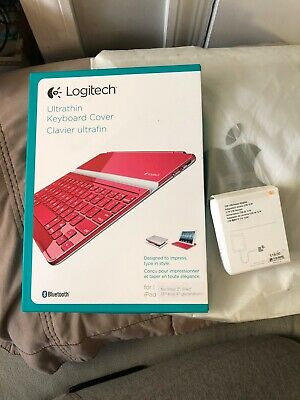 LOGITECH ULTRATHIN KEYBOARD COVER Red for iPad 2, IPad 3rd and 4th generation
